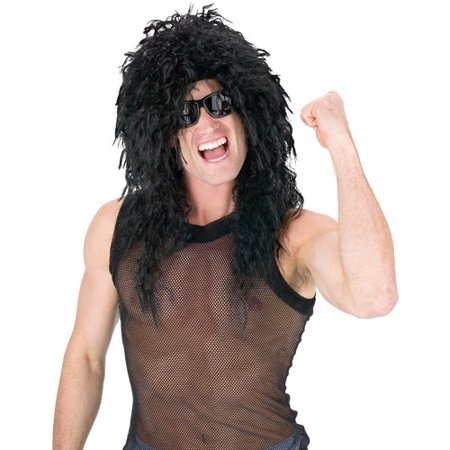 Headbanger Wig Adult Halloween Accessory