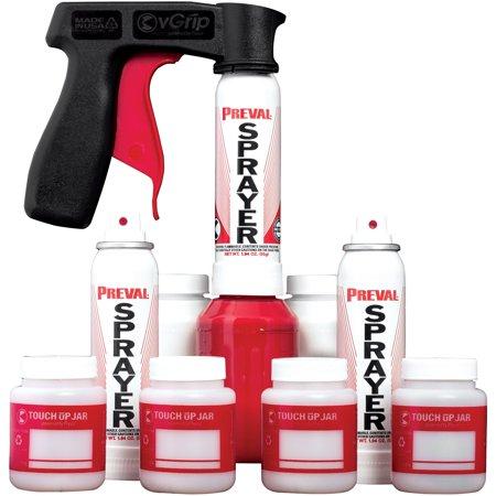 Preval 223 ValPak Custom Spray Kit with Assortment of Sprayers & Accessories