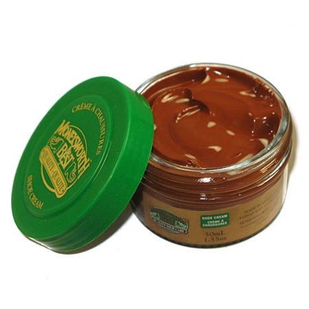 Shoe Cream - Jar 43g / 1.55oz (Medium Brown)