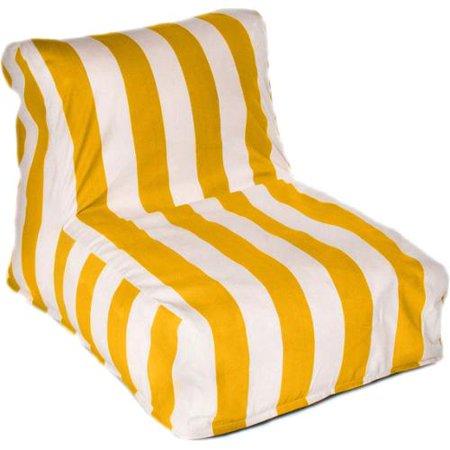 Awesome Chateau Designs Cabana Indoor Outdoor Beanbag Chair Inzonedesignstudio Interior Chair Design Inzonedesignstudiocom