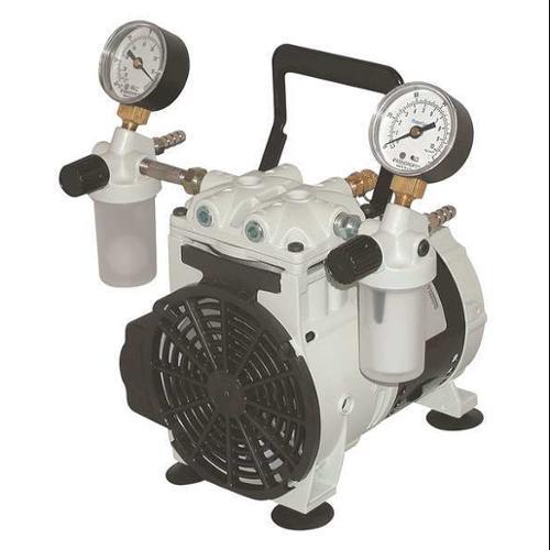 WELCH 2546B-01 Piston Vacuum Pump,1/4 HP,27.6in. Hg G0164370