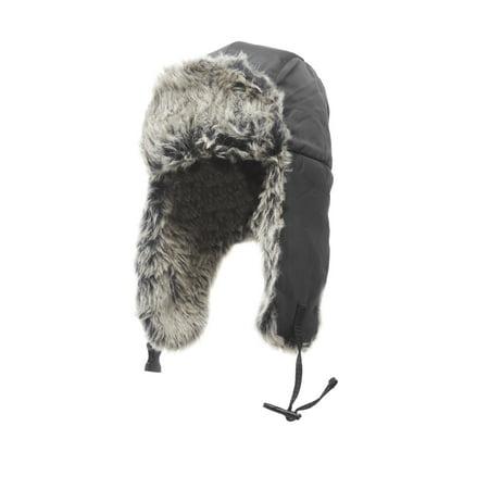 Mens Trapper Hats (Heat Edge Mens Winter Warm Trapper Hat for men)