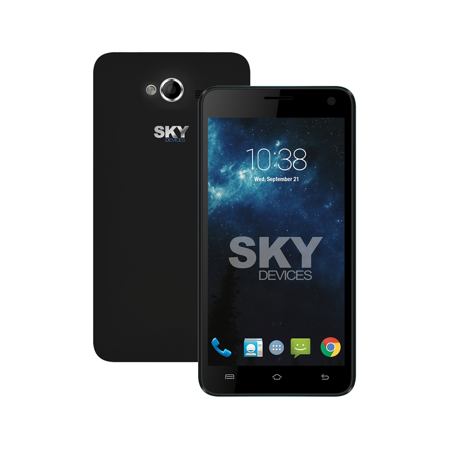 Sky Devices Elite 5.0LW 850/1700/1900 8GB 4G LTE Android Unlocked,Black