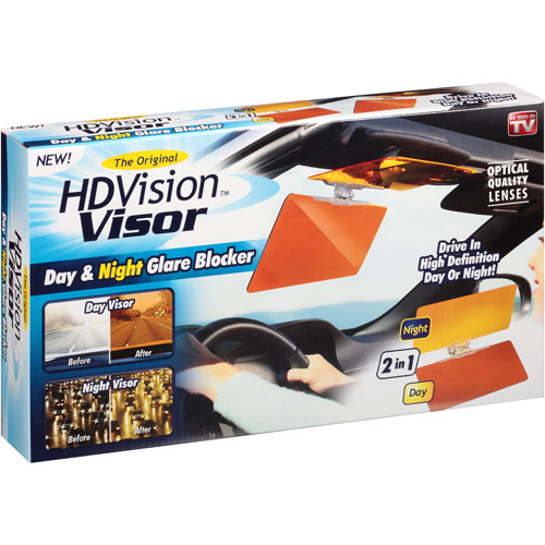 As Seen on TV HD Vision Visor, Glare Reducing Glasses