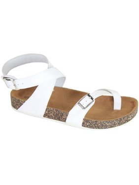0d0b56055 Product Image Glory-610 Women Sandals Shoes Gladiator Thong Flops T Strap  Flip Flat Strappy Toe White