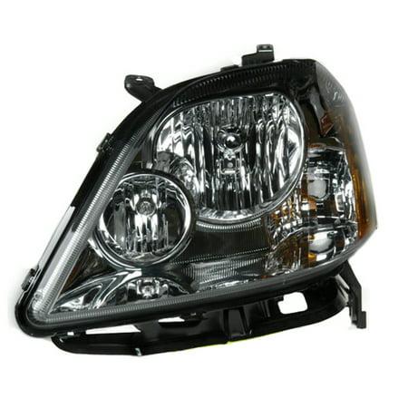 2005-2007 Ford Five Hundred  Driver Side Left Head Lamp Assembly 6G1Z13008B W/O Signal Lamp Socket CAPA
