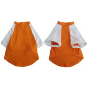 Iconic Pet Pretty Pet Orange and White Top, X Large