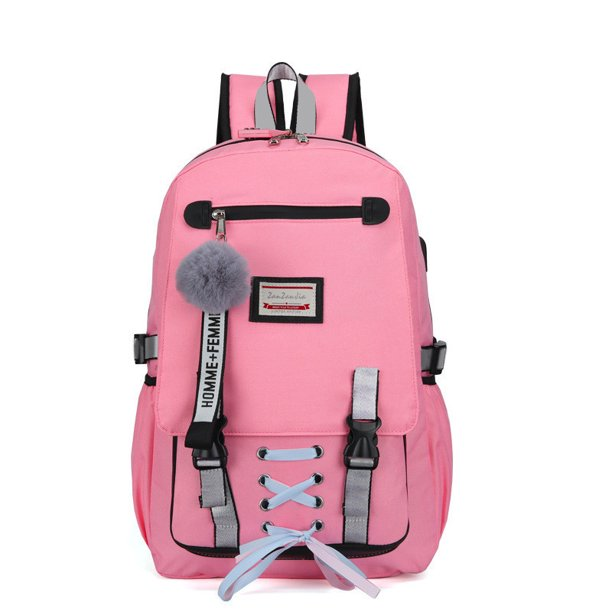 Cabina Home - Women Fashion Backpack with USB Port College School Bags  Girls Cute Bookbags Student Laptop Bag Pack Super Cute for School Teenage,  Back to School Backpacks - Walmart.com - Walmart.com