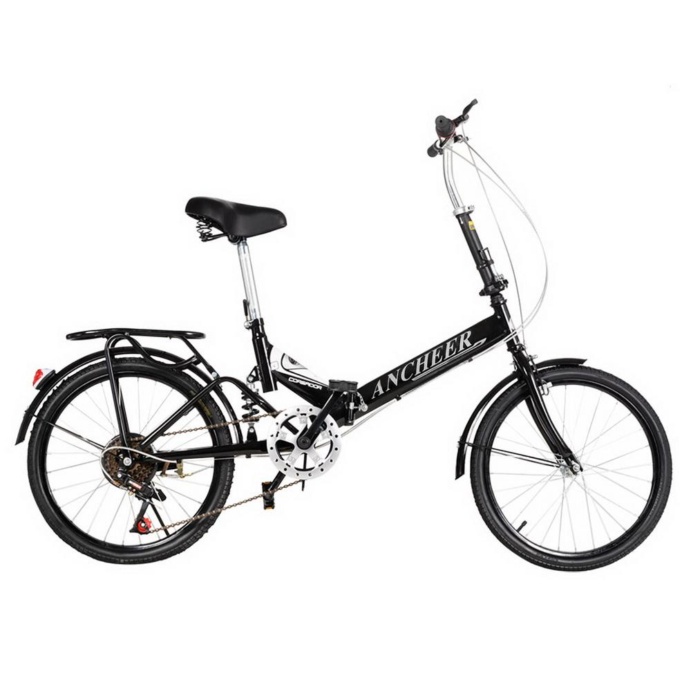 Hot Cdicount 20inch 6 Speed Folding Bike Foldable Bicycle...