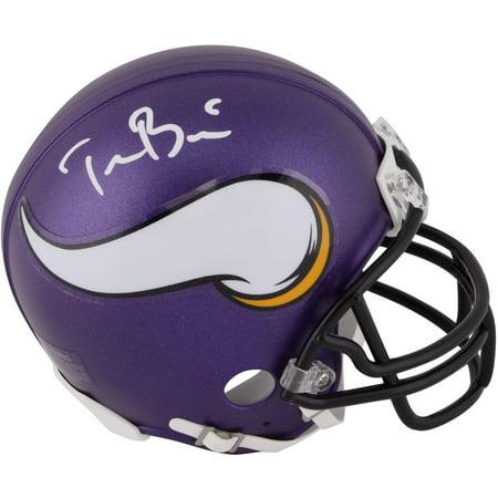 new concept fc188 28682 Teddy Bridgewater Minnesota Vikings Autographed Riddell Mini ...