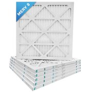 20x20x1 MERV 8 Pleated AC Furnace Air Filters. 6 Pack / $4.99 each