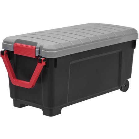 Iris 169 Qt Store It All Plastic Storage Tote With Handle