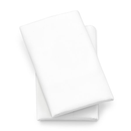 Chicco Lullaby Playard Sheets, White 2-Pack