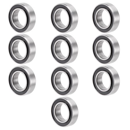 - Unique Bargains 10pcs MR148-2RS 8mmx14mmx4mm Double Sealed Miniature Deep Groove Ball Bearing