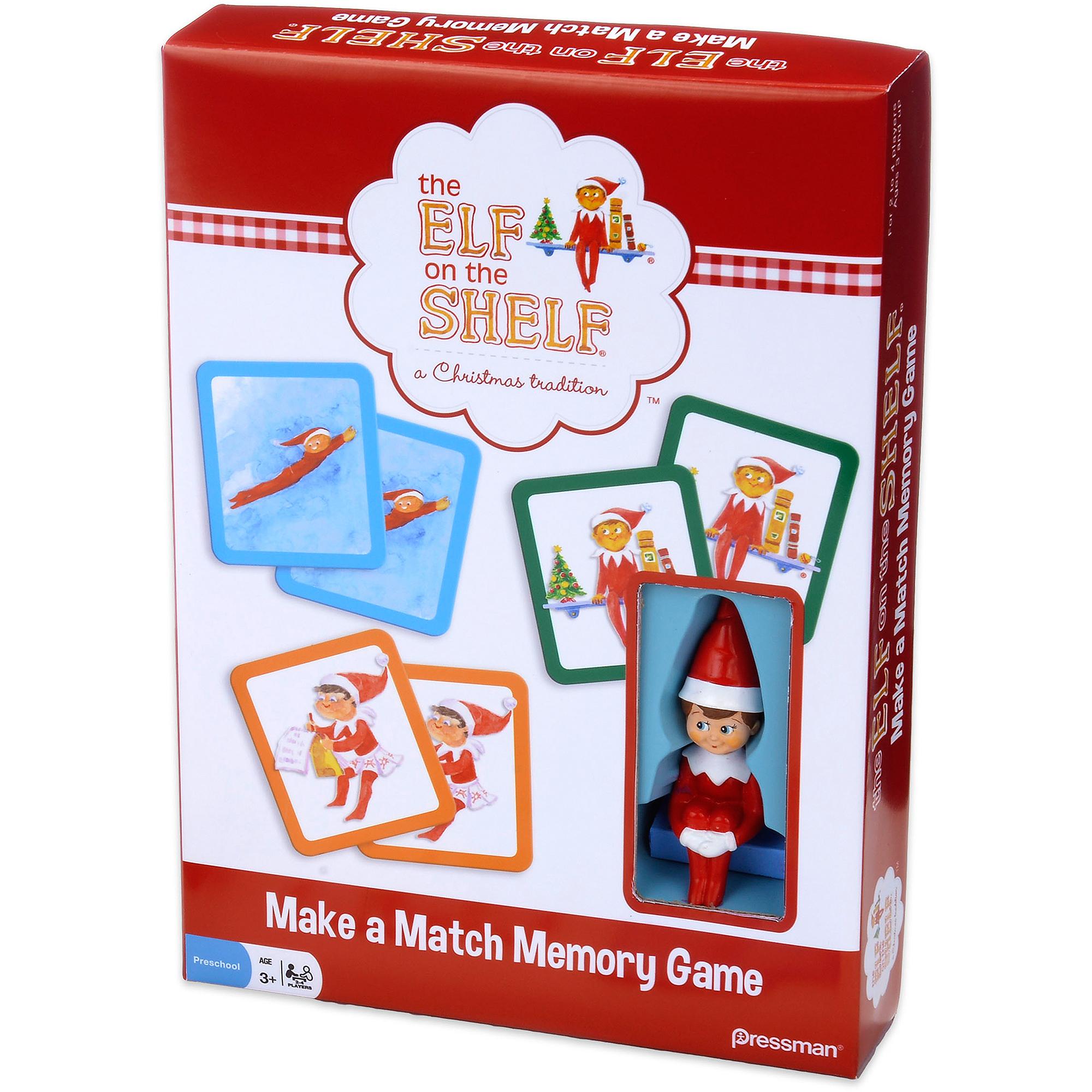Pressman Toy Elf on the Shelf Make a Match