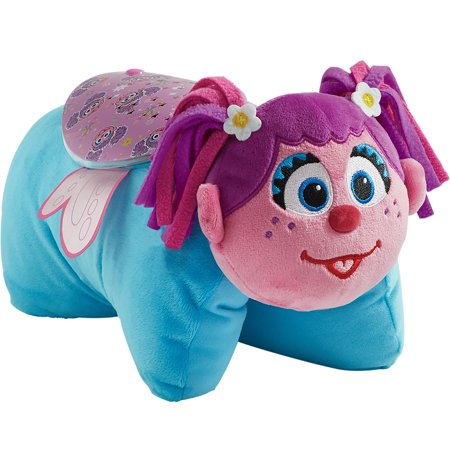 Pillow Pets Sesame Street Abby Cadabby Sleeptime Lites - Abby Cadabby Plush Night Light - Abby Cadabby Merchandise
