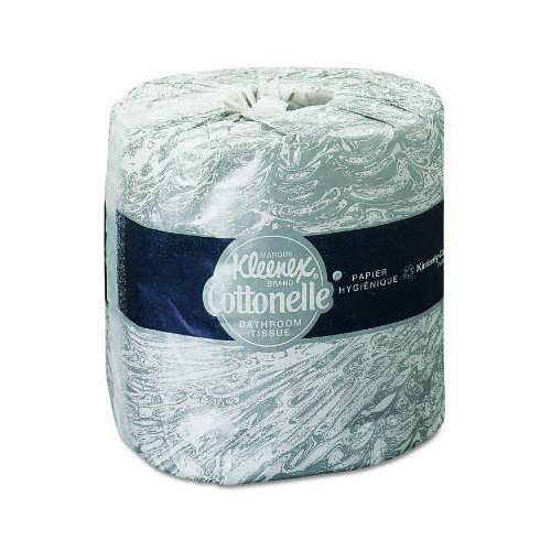 Kimberly-Clark Kleenex Cottonelle Standard 1-Ply Toilet Paper - 506 Sheets per Roll