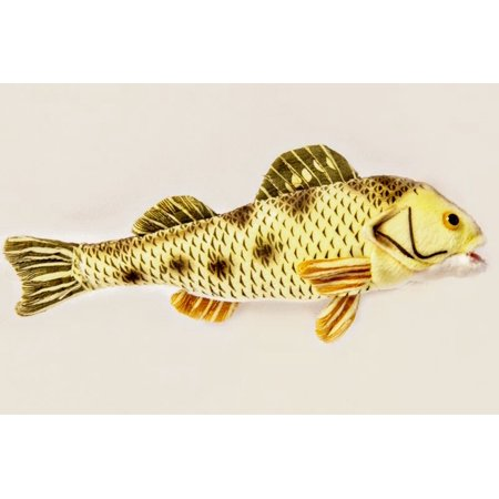 Yellow Perch - 10 inch Cabin Critters Stuffed Animal -  Freshwater Fish