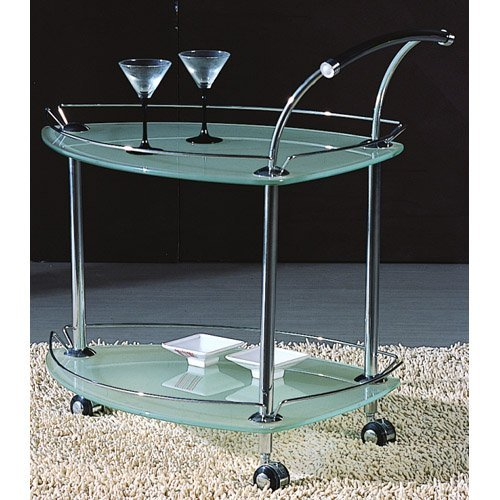 Chintaly Eastwood Glass Tea Cart