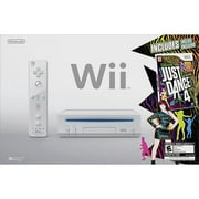 Refurbished Nintendo Wii Just Dance 4 Bundle White