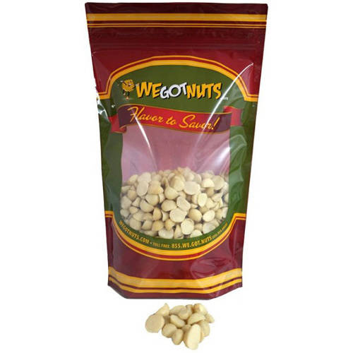 We Got Nuts Halves and Pieces Raw Unsalted Macadamia Nuts, 16 oz