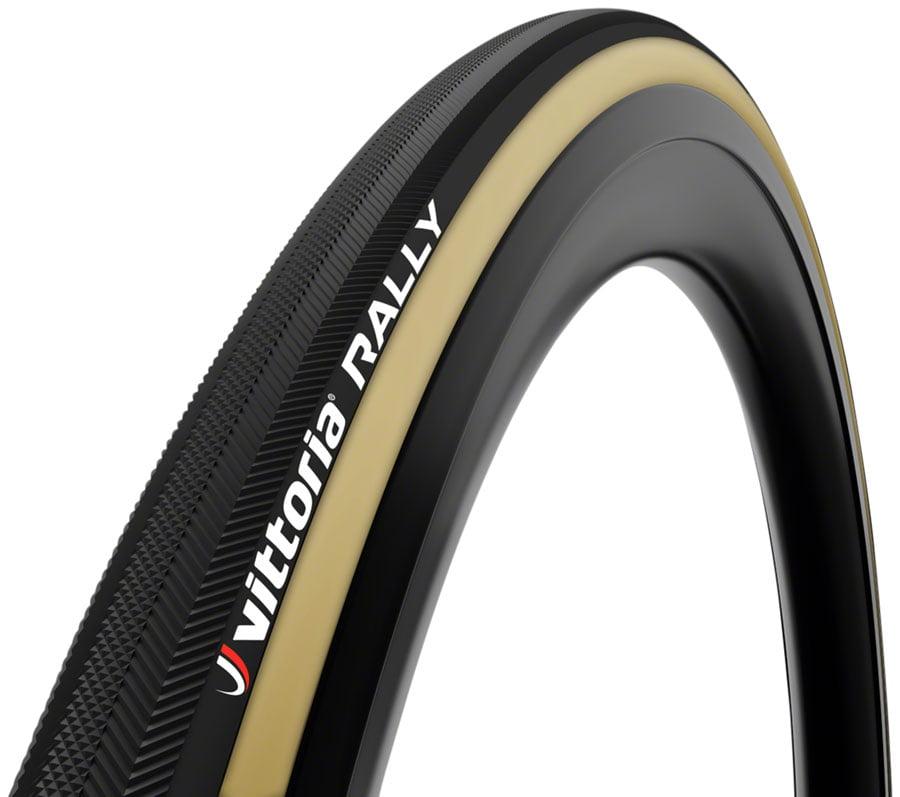 700 x 21c para//Black//Black Vittoria Rally Tubular Tyre