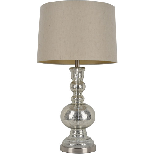 Silver Mercury Glass Table Lamp by Jimco Lamp & Manufacturing