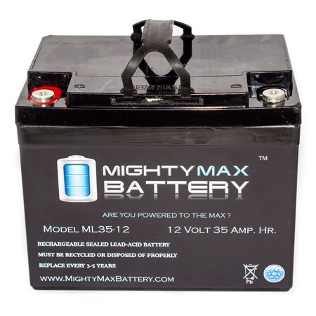 12V 35Ah Sla Internal Thread Battery For Apollo Nt T71k Operator