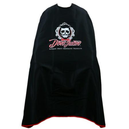 Don Juan Logo Lined Barber Cape - Juan Direction Halloween