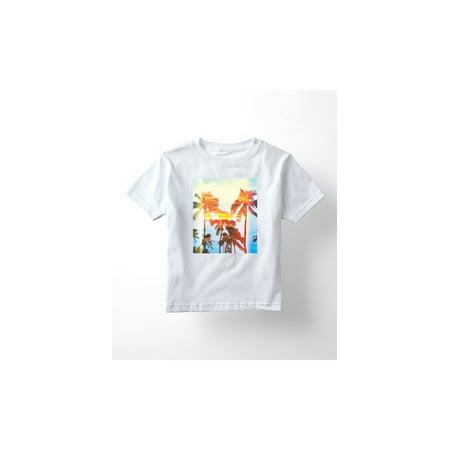 Palm Tree Retro Sunset Ocean Beach Surf Outdoor Vacation Novelty Toddler Shirt](Sunset Novelties Website)