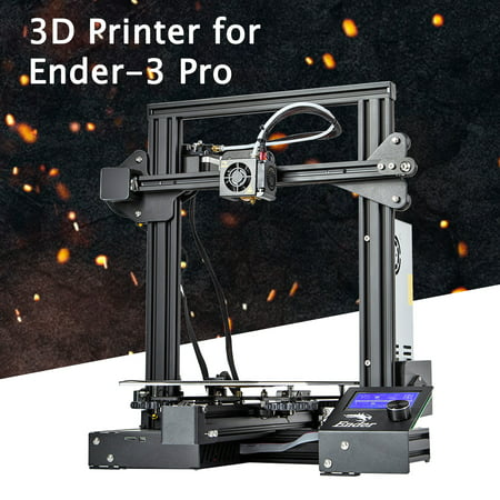 Creality 3D Ender® 3 Pro / Geeetech A10M Upgraded High P recision DIY 3D Printer LCD Screen Mix-color Printing Quality Kit + Magnetic Heated Bed Power