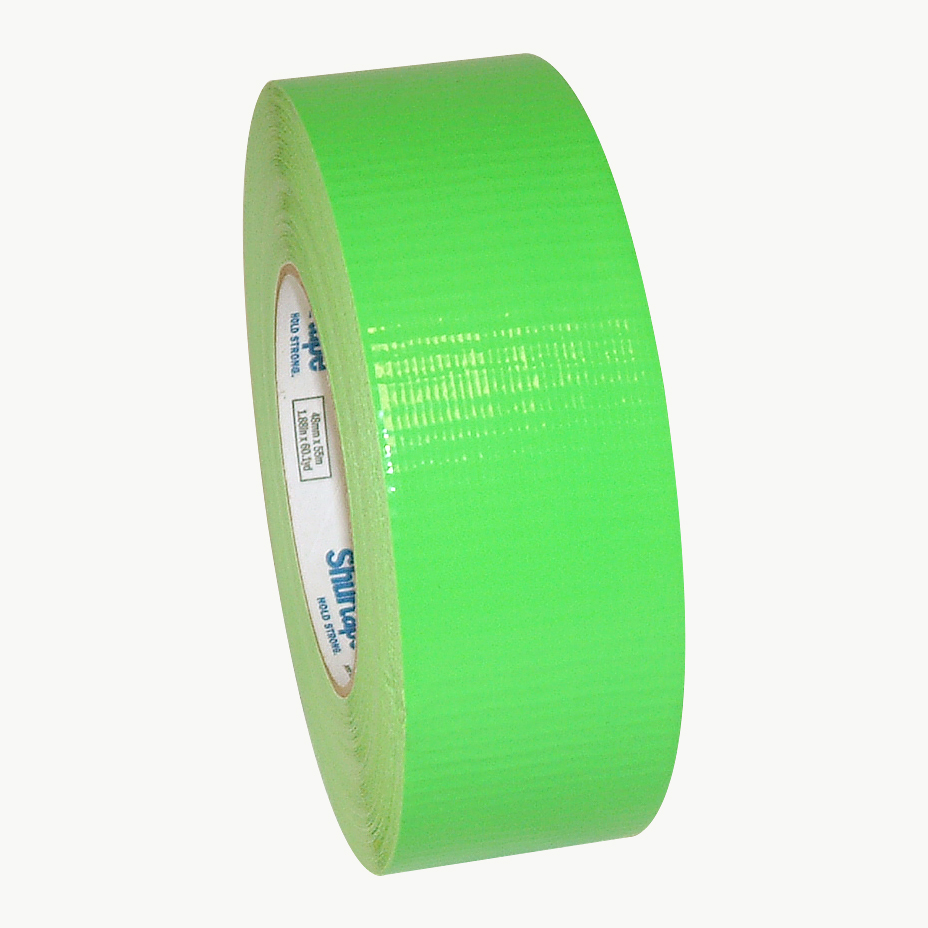 Shurtape PC-619 Fluorescent Duct Tape: 2 in. x 60 yds. (Fluorescent Green)