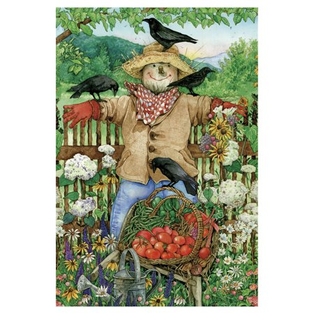 - Toland Home Garden Friendly Scarecrow Flag