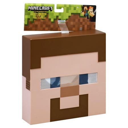 Minecraft Steve Mob Mask](Mindcraft Mask)