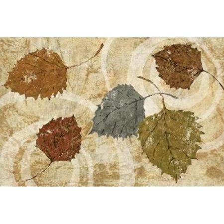 Golden Autumn Landscape Canvas Art - Studio Nova (24 x 36)