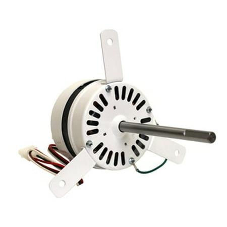 Loren Cook Vent Fan Motor 1/11 hp 1500 RPM 2 Speed 115V # 615057A (2 Speed Motor Windings)