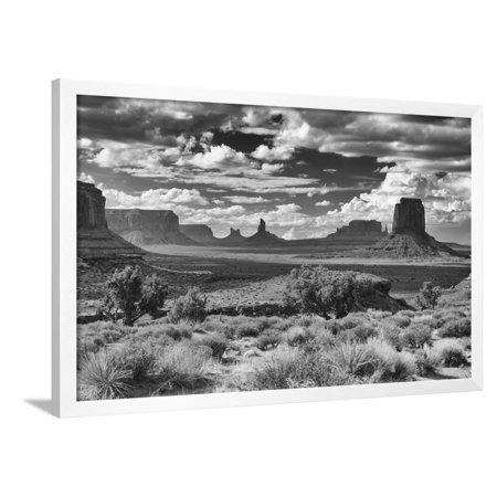 Monument Valley Halloween (Monument Valley 15 Framed Print Wall Art By Gordon)