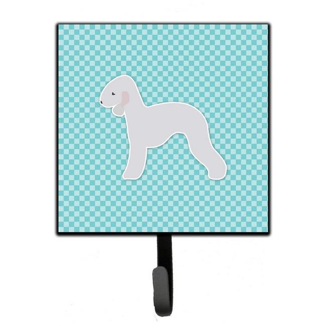 Bedlington Terrier Checkerboard Pink Leash or Key Holder - image 1 de 1