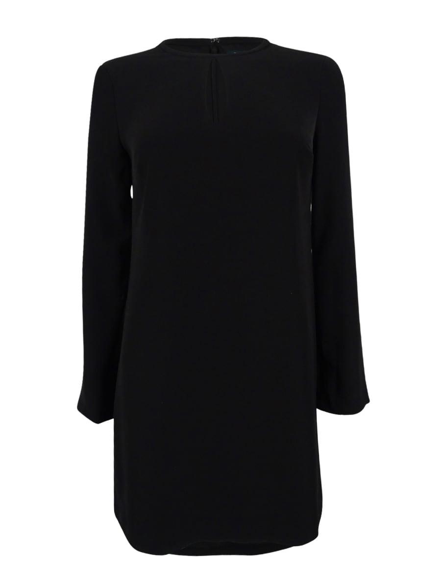 Lauren Ralph Lauren Women's Long Sleeve Crepe Dress