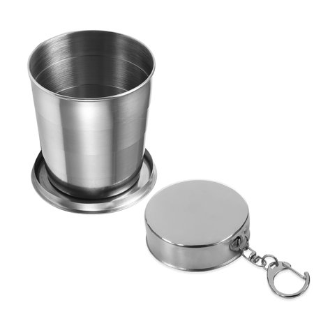 Runacc Stainless Steel Folding Cup Food Grade Collapsible