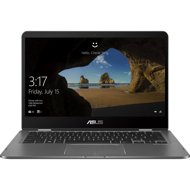 """Asus ZenBook Flip 14, 14"""" Full HD LCD Touch, 8th Gen Intel Core i7-8550U, NVIFIA GeForce MX150, 16GB LPDDR3, 512GB SSD, Windows 10, UX461FN-DH74T"""