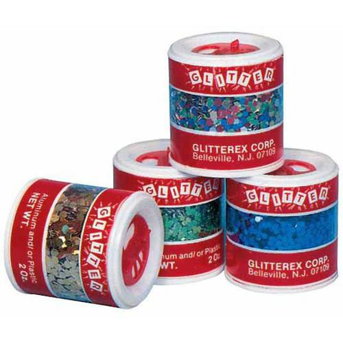 School Specialty Jumbo Glitter with Shaker Tops, 2 Ounce Jars, Assorted Colors, Set of 8