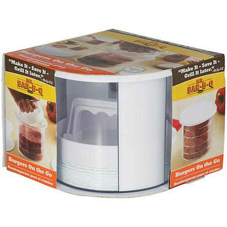 Mr. Bar-B-Q Multi Layer Burger Press and Storage