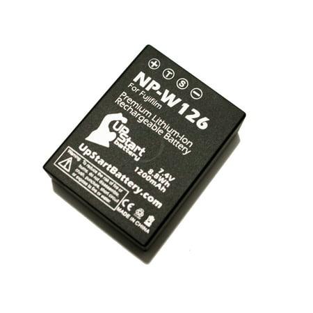 Fujifilm X-A1 Battery - Replacement for Fujifilm NP-W126 Digital Camera Battery (1200mAh, 7.4V, Lithium-Ion) - image 3 de 3