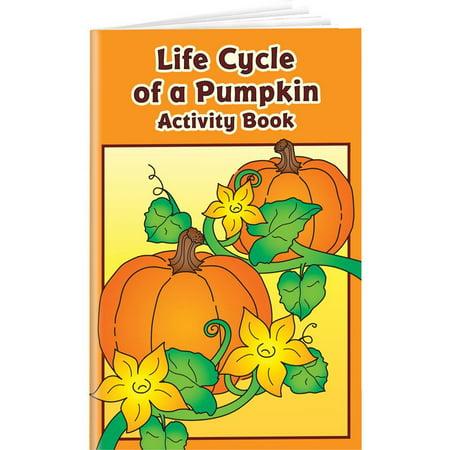 Life Cycle Of A Pumpkin Activity Books - Pumpkin Life Cycle