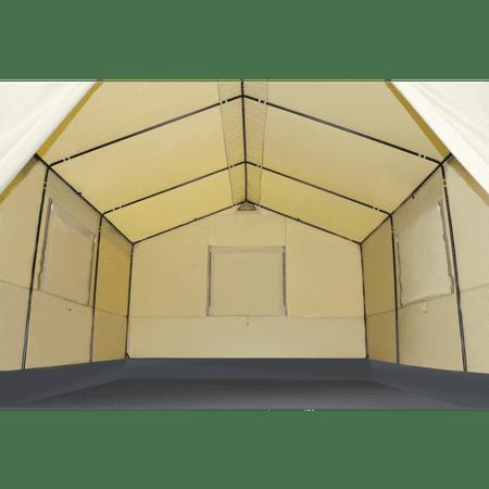 Ozark Trail 12' x 10' All-Season Outfitter Wall Tent, Sleeps 6 - Walmart com