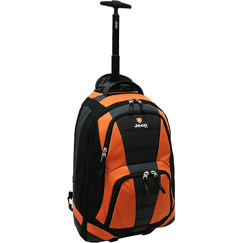 Jeep Rolling Backpack Orange - Walmart.com