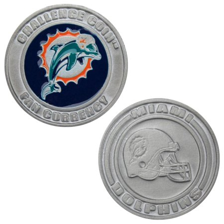 Challenge Coin Card Guard - Miami Dolphins