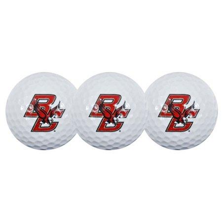 Team Effort Boston College Eagles Golf Balls, 3 Pack
