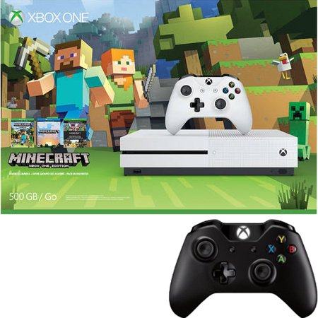 Xbox One S 500GB Console with Wireless Controller